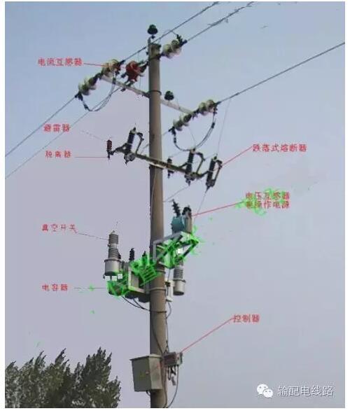 电流),无功补偿电容器等.